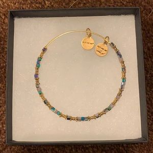 Alex and Ani Beaded Adjustable Bangle